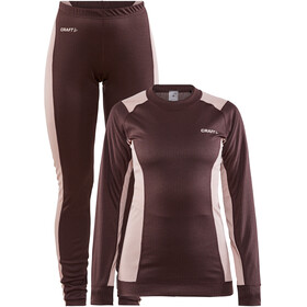 Craft Core Dry Baselayer Set Dames, peak/hint